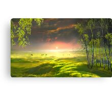 Idyll Place Canvas Print