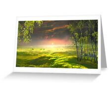 Idyll Place Greeting Card