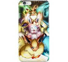 pokemon eevee espeon umbreon flareon anime lapton skin iPhone Case/Skin