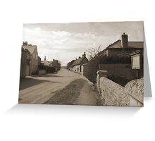 Cotterstock Village Greeting Card