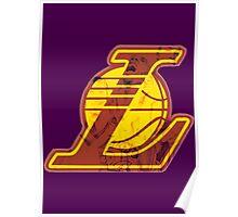 Lakers Art Poster