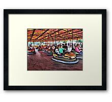 The Dodgems at Hawkesbury Upton Fair and Horticultural Show.  Framed Print