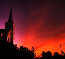 Church Sunset by Michael Mill