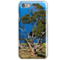 Watching over the sea iPhone Case/Skin