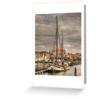 'Home is where the anchor drops' Greeting Card