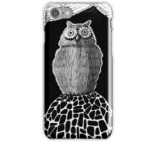 257 - THE OWL - DAVE EDWARDS - INK - 2015 iPhone Case/Skin