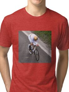 Sir Bradley Wiggins Tri-blend T-Shirt
