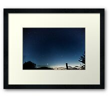 A Scottish Dream Framed Print