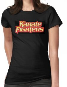 Karate Fighters Womens Fitted T-Shirt