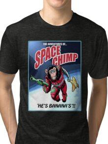 Space Chimp!! Tri-blend T-Shirt