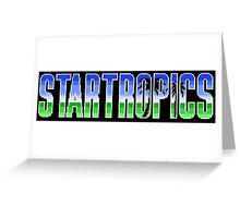 Startropics Greeting Card