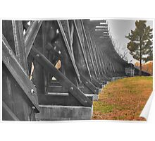 Tracks from History - Harpers Ferry Poster