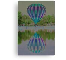 Dipping Canvas Print