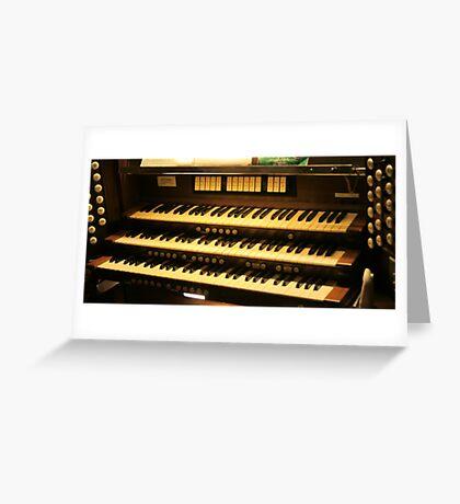 Organ Greeting Card