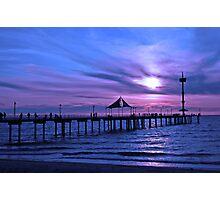 Brighton Jetty, Adelaide Photographic Print