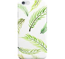 Palm Leaves Summer Pattern iPhone Case/Skin