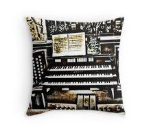 Organ II Throw Pillow