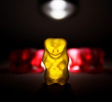 Gummy Bear Photography - Leaving The Town by michalfanta
