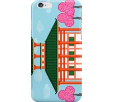 Japanese Temple - Pixel Art iPhone Case/Skin