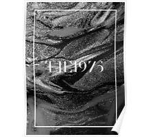 the 1975 logo with pretty background  Poster