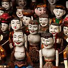Water Puppets - Hanoi, Vietnam by Alex Zuccarelli