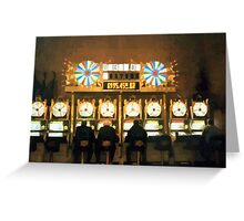Slot Players Greeting Card