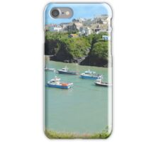 Port Isaac harbour, Cornwall iPhone Case/Skin