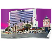 Stardust Las Vegas Vector Graphic #3 Poster
