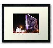 Stardust Las Vegas Vector Graphic #4 Framed Print