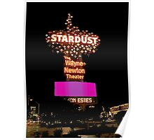 Stardust Las Vegas Vector Graphic #7 Poster