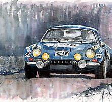 Alpine A 110  by Yuriy Shevchuk