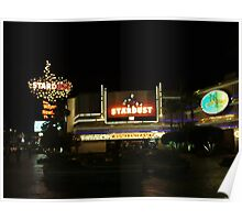Stardust Las Vegas Vector Graphic #8 Poster