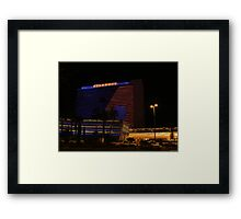 Stardust Las Vegas Vector Graphic #9 Framed Print