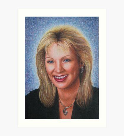 Portrait of Aunt Laurie Art Print