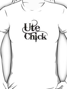 'Ute Chick' T-Shirt