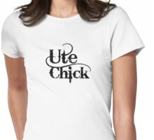 'Ute Chick' Womens Fitted T-Shirt