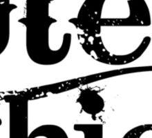 'Ute Chick' Sticker