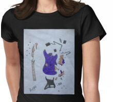 Pieces  Womens Fitted T-Shirt