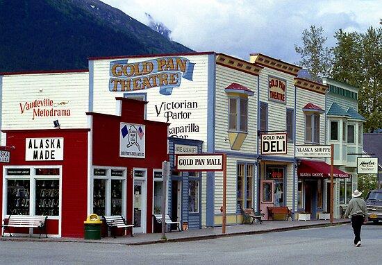Alaska Landscape, Skagway Gold Rush Town\