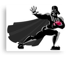 Darth Vader / Heisman Trophy Canvas Print