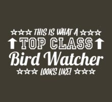 This Is What A Top Class Bird Watcher Looks Like by Chimpocalypse