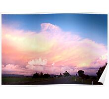 Sunset at Parkes Poster