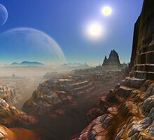Canyon's of UUrrian by AlienVisitor