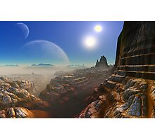 Canyon's of UUrrian Photographic Print