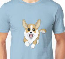 Running Corgi Dog Unisex T-Shirt