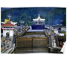 Landscape Panama Canal Poster