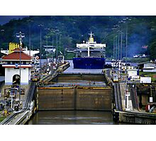 Landscape Panama Canal Photographic Print