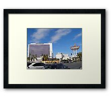 Stardust Las Vegas Vector Graphic #15 Framed Print