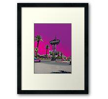 Stardust Las Vegas Vector Graphic #17 Framed Print