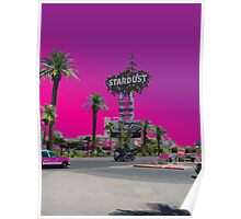Stardust Las Vegas Vector Graphic #17 Poster